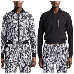Nike Bonded woven reversible bomber jacket